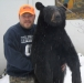 Bear Shoulder Mount with its Proud Owner